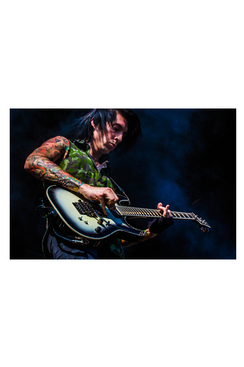 "BVB 8""X10"" PHOTO FROM WARPED TOUR 2015: JAKE4"