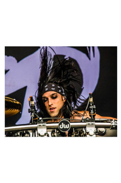 "BVB 8""X10"" PHOTO FROM WARPED TOUR 2015: CC1"