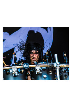 "BVB 8""X10"" PHOTO FROM WARPED TOUR 2015: CC3"