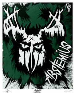 ABSTEMIUS BY ANDY BIERSACK NUMBERED GICLEE FINE ART POSTER PRINT