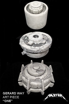 "Gerard Way ""One"" landmine Sculptures  All 3 Styles"