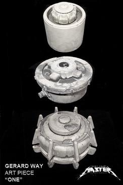 """Gerard Way """"One"""" landmine Sculptures  All 3 Styles"""