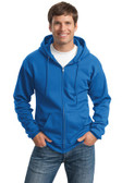 Port & Company Tall Full-Zip Hooded Sweatshirt