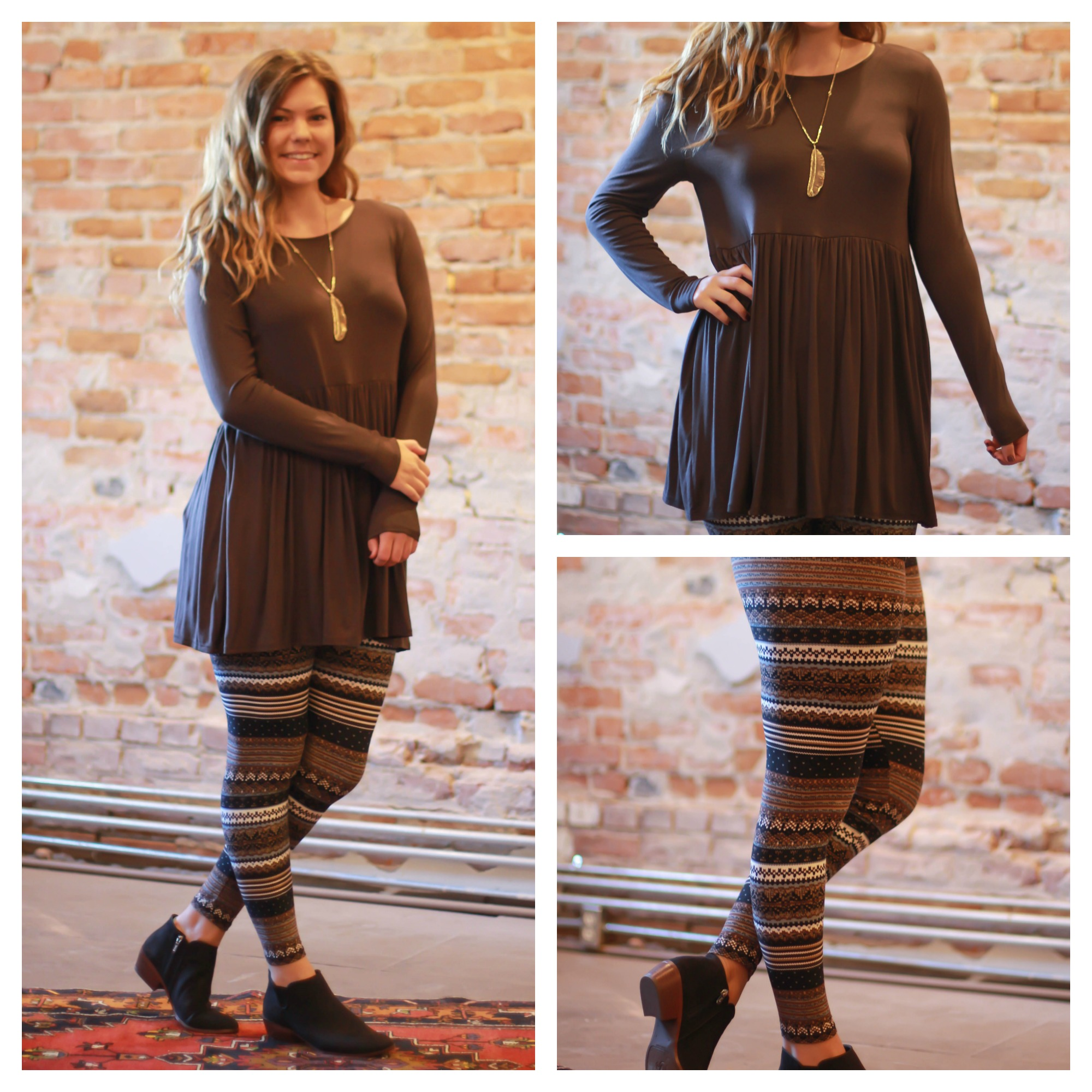 How To Style our Butter Soft Leggings and Simply Basics Tunics ...