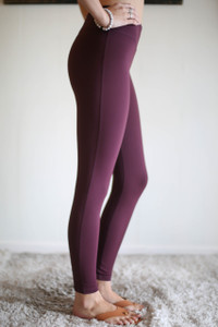 Activated Athletics Magenta Lattice Leggings with Pocket