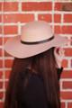 Tan Floppy Hat side view.
