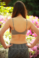 Simply Effortless Micro Fiber Magical Bralette  back view.