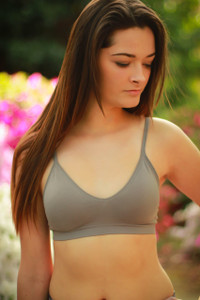 Simply Effortless Micro Fiber Magical Bralette  front view.
