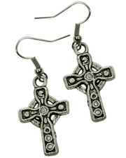 Celtic Cross Earrings.
