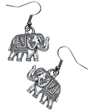 Lucky Elephant Earrings.