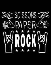 """Scissors, Paper, Rock"" T-Shirt."