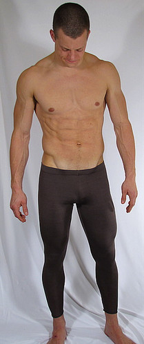 MENS LEGGINGS-RUNNING TIGHTS ( 18 solid color selections)