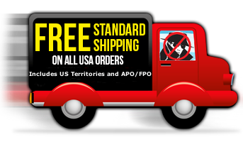 Free Standard Shipping in US and Territories Includes APO/FPO