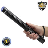 Streetwise Police Force 10,000,000 Tactical Stun Baton Flashlight (SWPFTB10R)