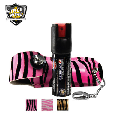Streetwise Fashion Model 23 Pepper Spray 1/2 oz w/ Soft Holster (SW3M23)