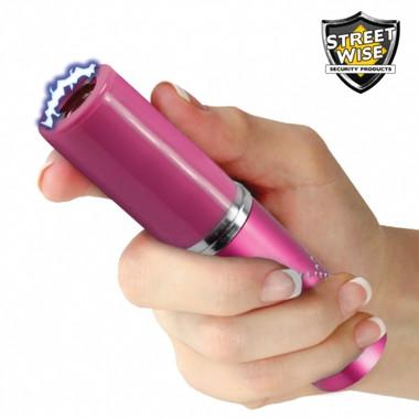 Streetwise Perfume Protector 3,500,000 Stun Gun Pink (SWPP3500RPK)
