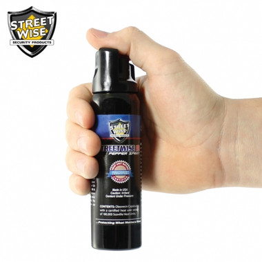 Streetwise Lab Certified 18 Pepper Spray 4 oz. Twist Lock (SW11TL18)