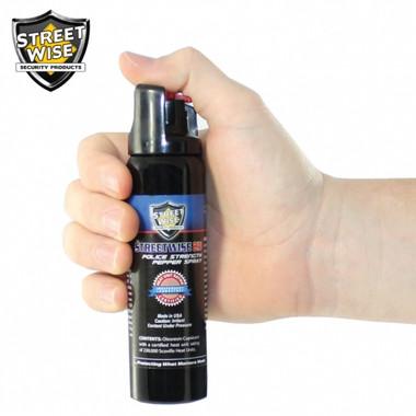 Streetwise Police Strength 23 Pepper Spray 4 oz. Twist Lock (SW11TL23)