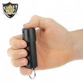 Streetwise Lab Certified 18 Pepper Spray 1/2 oz. Hard Case with Key Ring SPIN LOCK (SW3SL18)
