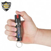 Streetwise Lab Certified 18 Pepper Spray 3/4 oz. Key Ring and Clip (SW4518)
