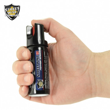 Streetwise Lab Certified 18 Pepper Spray 2 oz. TWIST LOCK (SW8TL18)