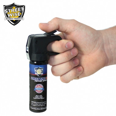 Streetwise Lab Certified 18 Pepper Spray 3 oz. Fire Master (SW9FM18)