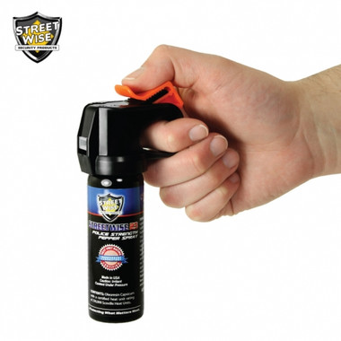 Streetwise Police Strength 23 Pepper Spray 3 oz. Fire Master (SW9FM23)