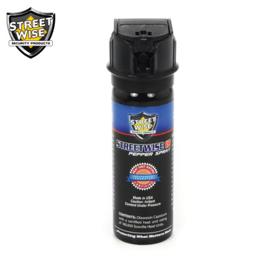 Streetwise Lab Certified 18 Pepper Spray 3 oz. FLIP TOP (SW9FT18)