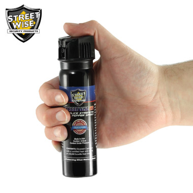 Streetwise Police Strength 23 Pepper Spray 3 oz. Flip Top (SW9FT23)
