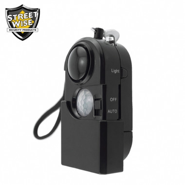 Streetwise iAlarm Motion Detector and Personal Alarm (SWIA)