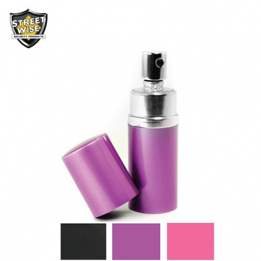 Streetwise Lab Certified 18 Pepper Spray 3/4 oz. Round Perfume Bottle (SWPR18)
