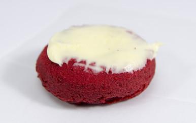 Red Velvet White Iced Donuts