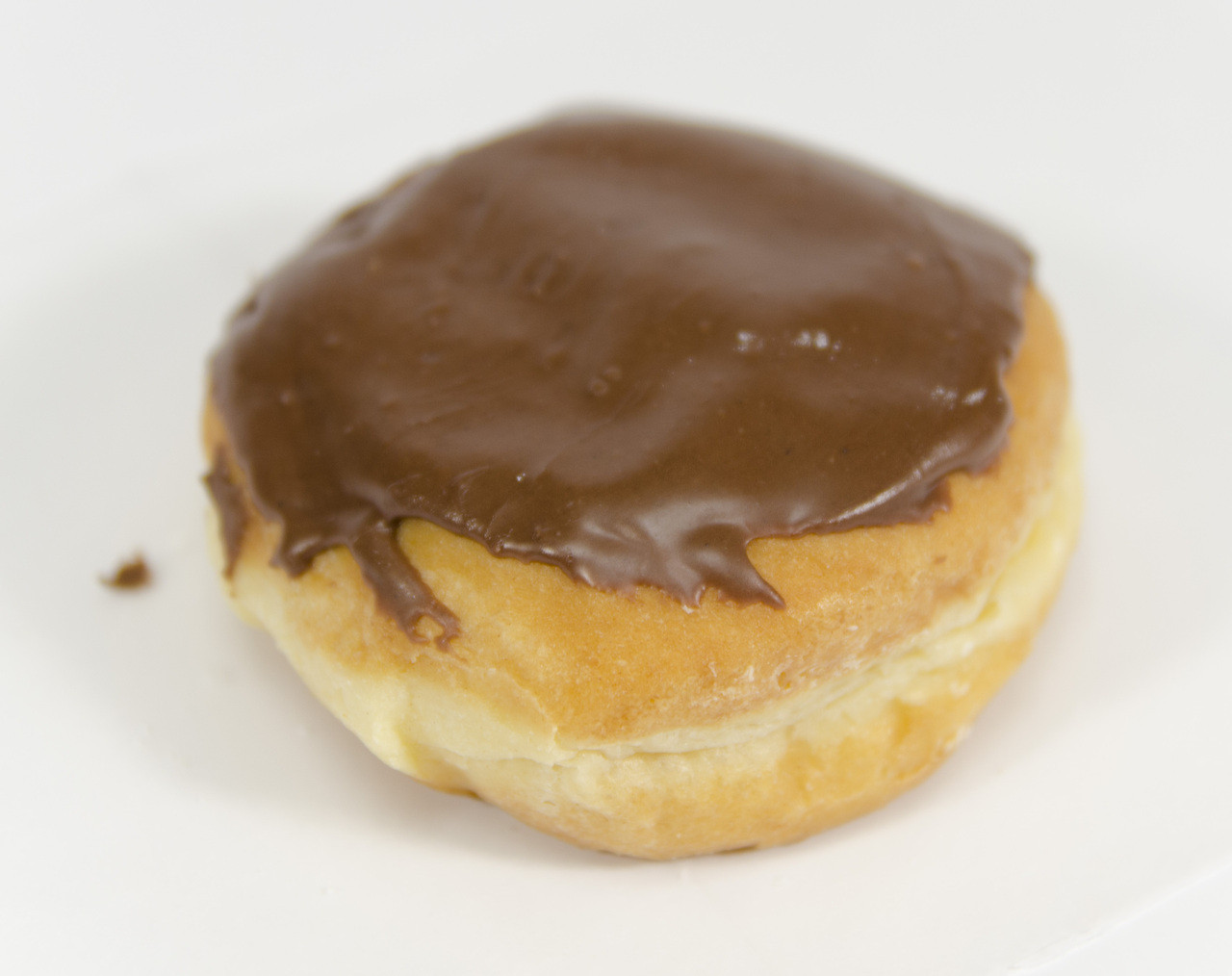Chocolate Covered Crème-Filled Donuts - Bill's Donut Shop