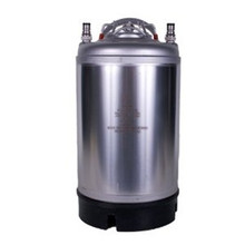 New 3 Gallon  Ball Lock Keg