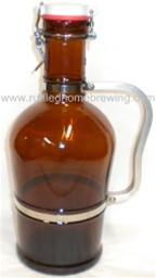 2 Liter Growler With Handle