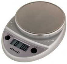 Escali 11lb Digital Scale Chrome