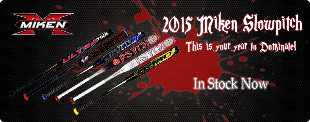2015 Miken Slowpitch Bat Rolling