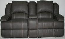 Love Seat w/insert: Color - Beckham Walnut