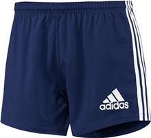 Adidas 3-Stripes Performance Rugby Shorts - Navy