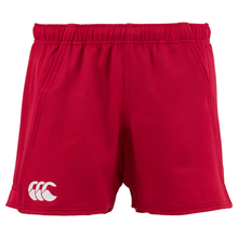 Canterbury Advantage Rugby Shorts  (Flag Red)