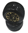 JLB RACING J3 SPEED 1:10 Brushless Truggy EC1004 Electroplanting WHEEL