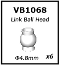 Vkar racing 1/10 V.4B Buggy 4.8 Ball Head VB1068