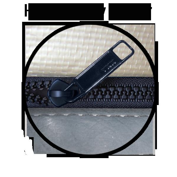 High quality corrosion resist zipper