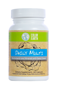Color Earth Daily Multivitamin