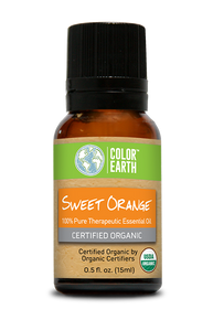 Sweet Orange Organic Essential Oil