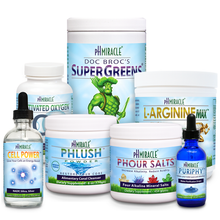 Always Alkaline Master Pack with SuperGreens 1 lb., pHour Salts, PuripHy,, L-Arginine MAX, Cell Power, Activated Oxygen, and pHlush.
