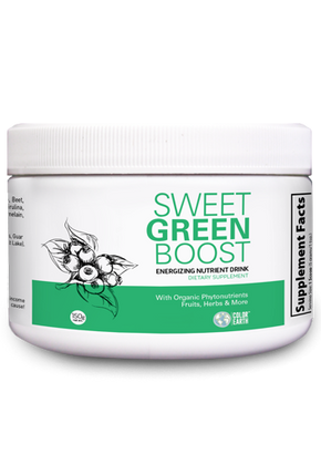 Sweet Greens Boost new label