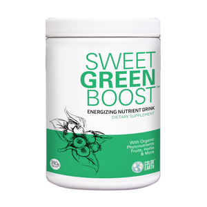 Sweet Green Boost new label