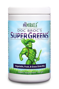 Doc Broc's SuperGreens (formerly Power Plants) Greens Drink Powder