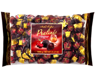 Maître Truffout Pralines dark chocolate with cherry and liqueur 1Kg. (2.2 lb.)